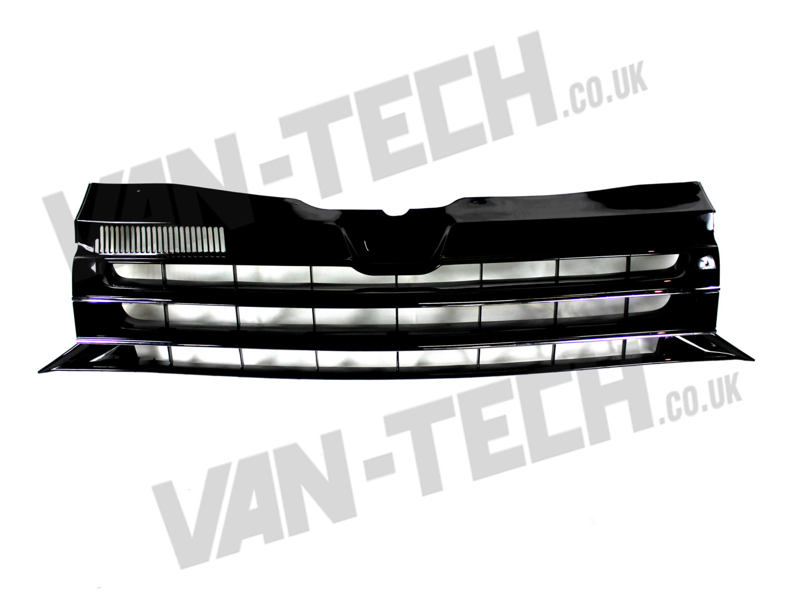 VW T5 Transporter Badgeless GP Grille Black