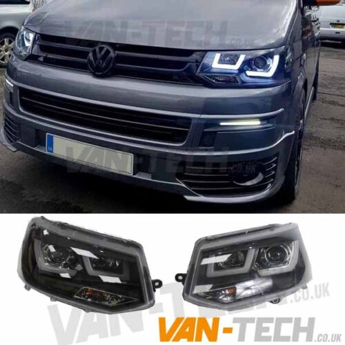VW Transporter T5.1 LED DRL Light Bar Headlights 2010-2015