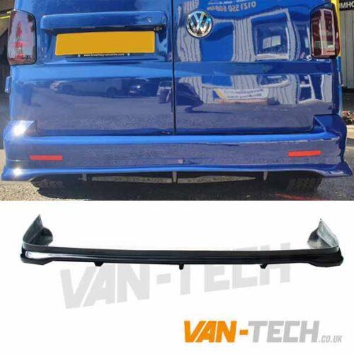 VW T5 T5.1 Transporter Rear Bumper Diffuser Spoiler