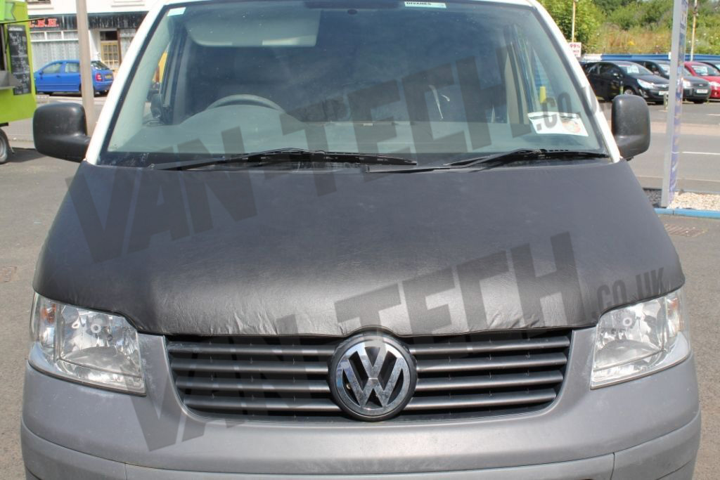 vw t5 transporter bonnet bra full van tech. Black Bedroom Furniture Sets. Home Design Ideas