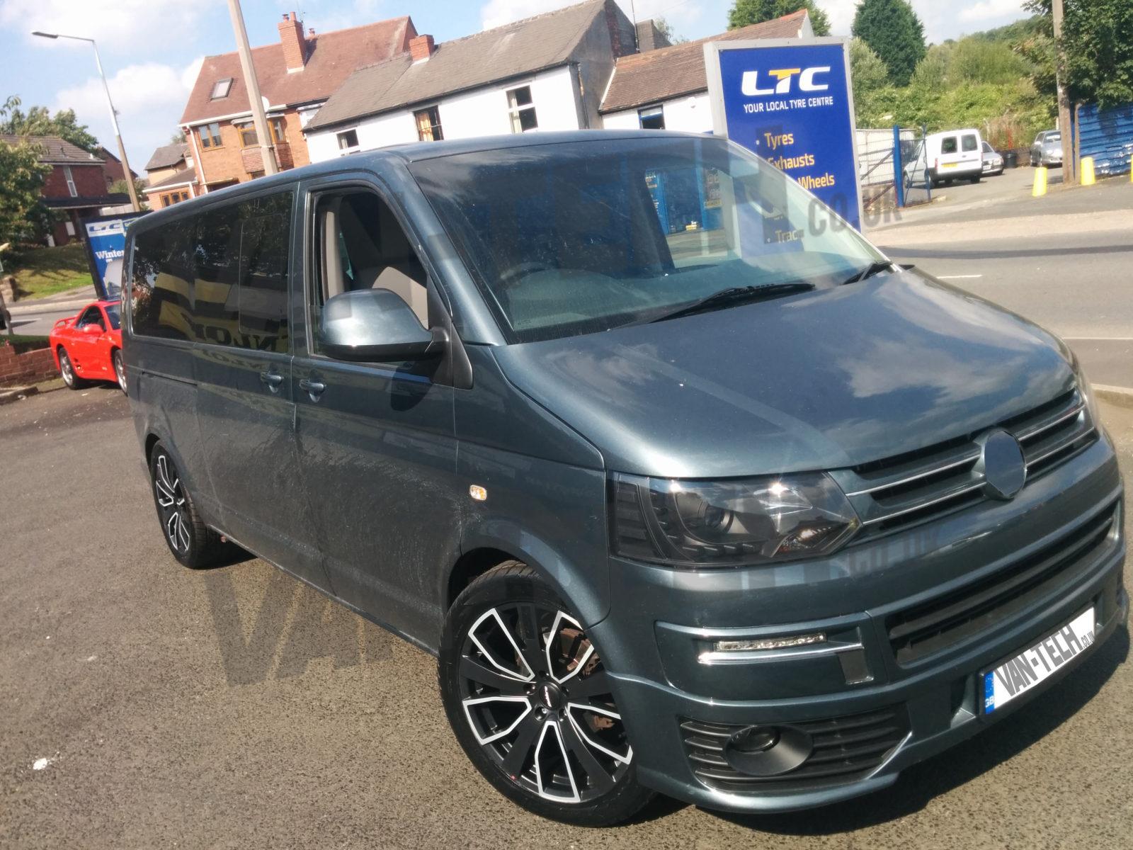 Calibre Kensington 20 Quot Alloy Wheels Vw T5 Van Tech