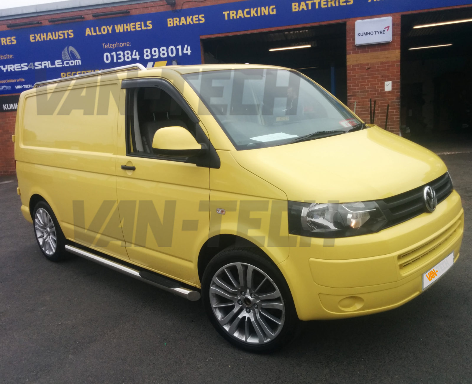 Vw T5 Swb Lwb Stainless Steel Roof Rails Van Tech