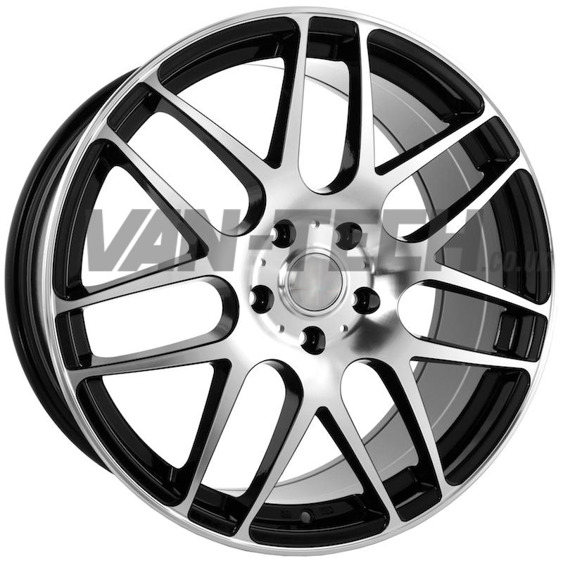 18 Inch VW T5 T5.1 Alloy Wheels