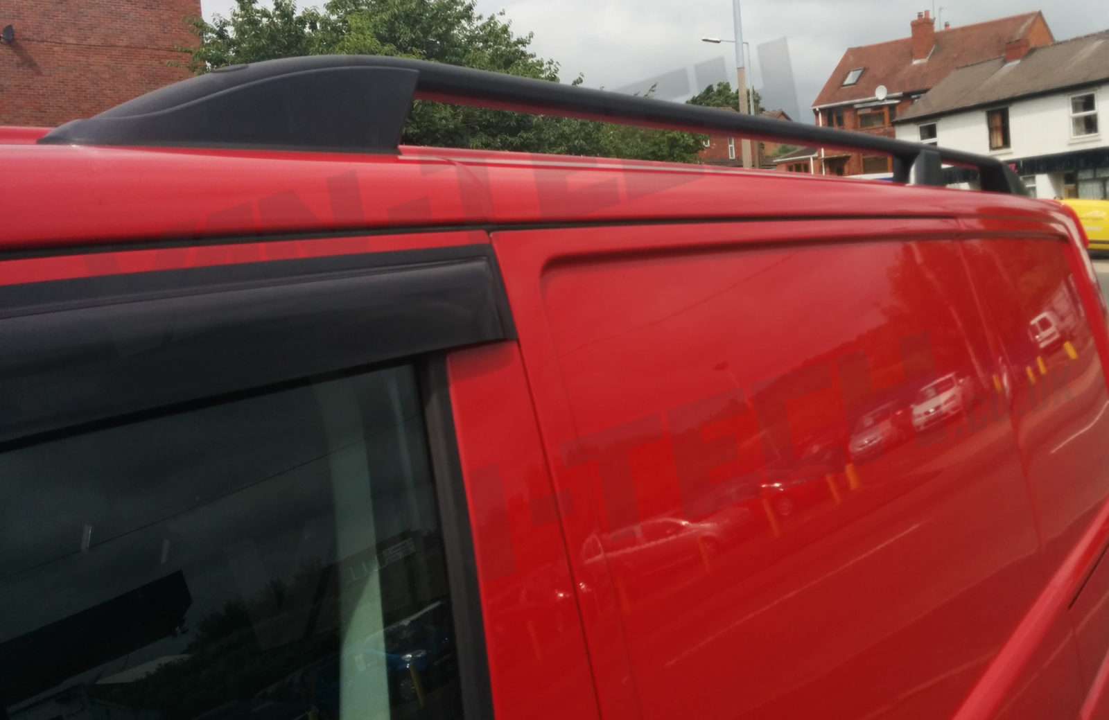 Vw T6 Swb Lwb Aluminium Black Roof Rails Van Tech