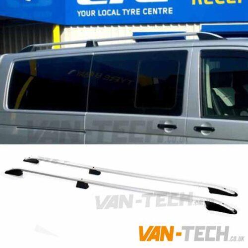 VW Transporter T5 T5.1 Roof Rails Aluminium SWB LWB