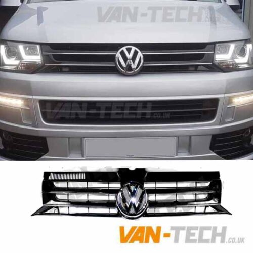 VW T5.1 Transporter GP Grille Black 2010 - 2015