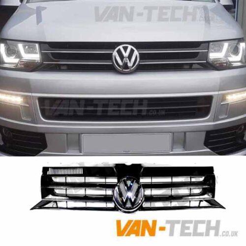 VW T5.1 Transporter GP Grille Black 2010 - 2015