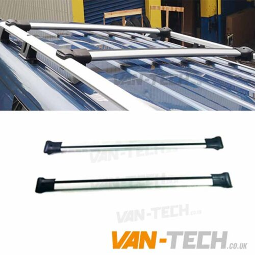 vw t5 t5.1 t6 aluminium cross bars