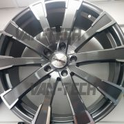 Calibre Manhattan 20 inch alloy wheel gun metalto fit VW Transporter T5 and T6 Van 2