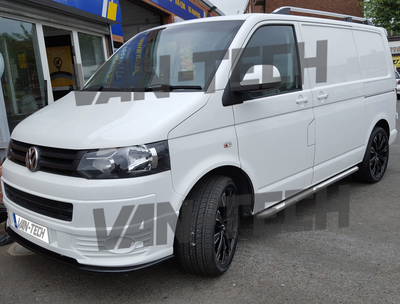 vw transporter t5 1 sportline bumper 2010 2015 van tech. Black Bedroom Furniture Sets. Home Design Ideas