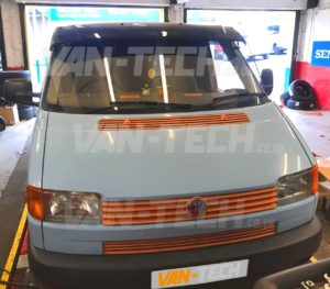 VW Transporter T4 fitted with Sportline Style Side Bars and Sun ... a41a9481465