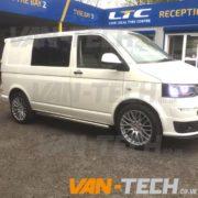 VW Transporter t5 Calibre Altus 20 inch wheels (1)