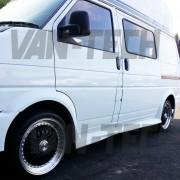VW Volkswaghen transporter T4 van with Calibre Vintage wheels 18 inch