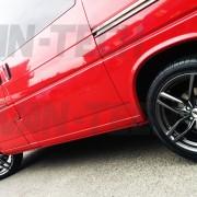 VW Transporter T4 DRC DRS Alloy wheel gun metal 18 inch 2