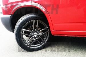 vw transporter T4 DRC DRS Alloy wheel s gun metal 18 inch