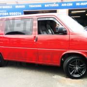 vw transporter T4 DRC DRS Alloy wheel s gun metal 18 inch 4