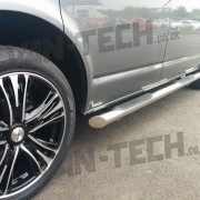 Calibre Odyssey 18 inch Alloy wheels fitted to VW Transporter T5 (3)