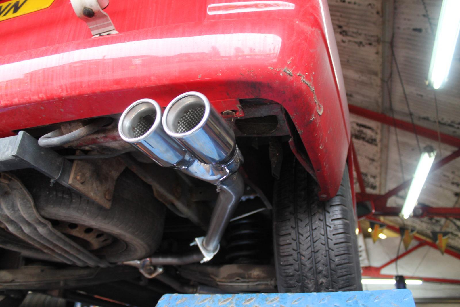 Vw T4 Transporter Stainless Steel Custom Exhaust System