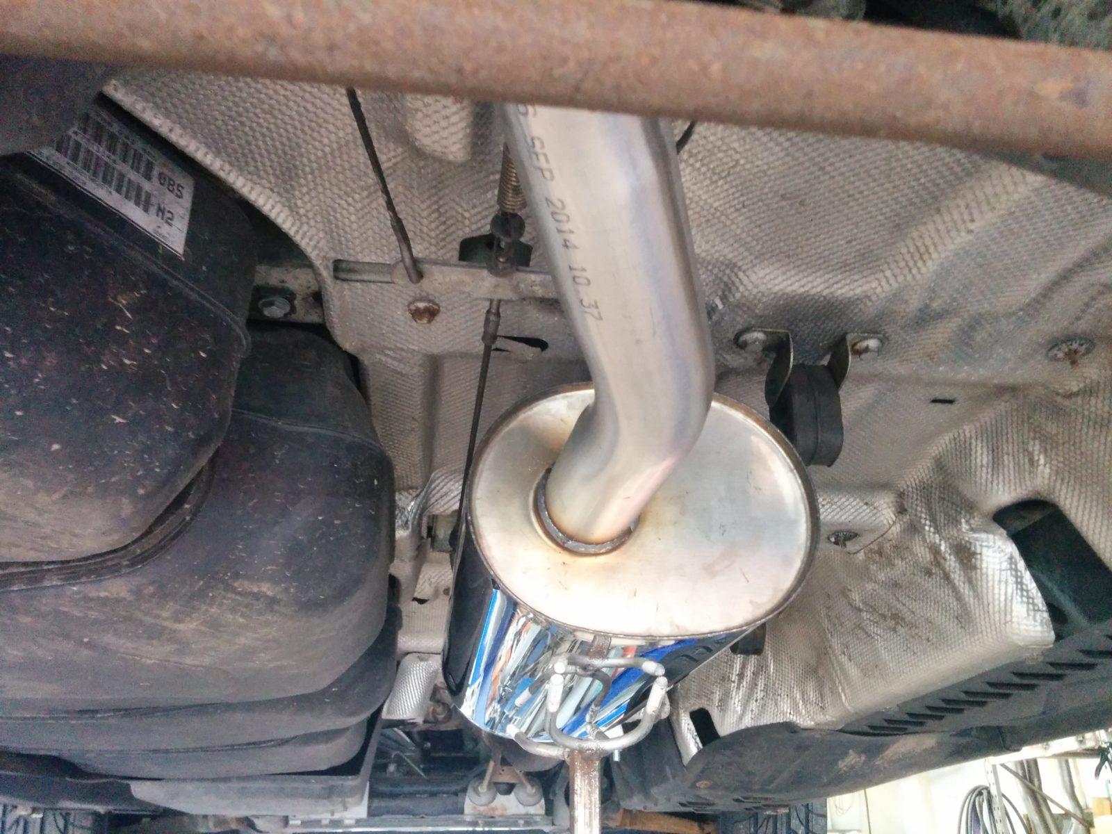 Vw T5 Transporter Stainless Steel Custom Built Exhaust