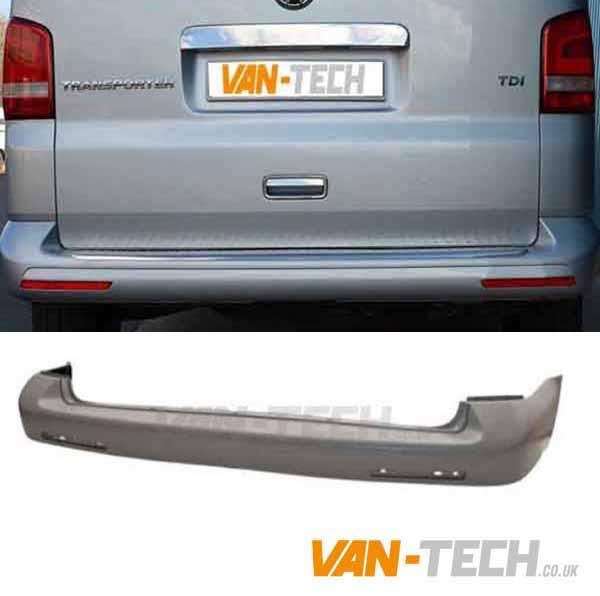 Rear Bumper Primed Vw Transporter T5.1 2013-2015 Brand New High Quality