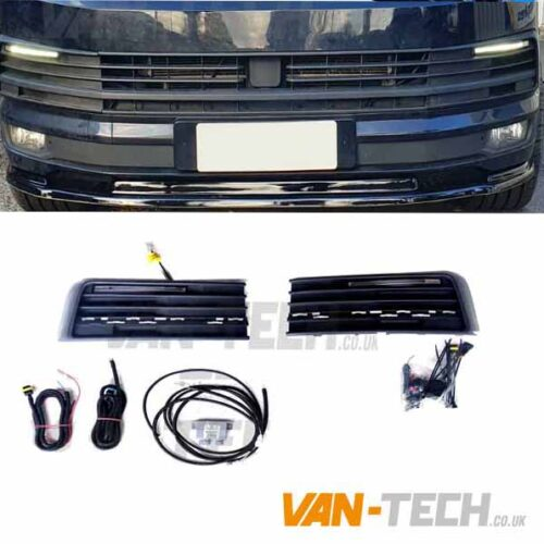 VW T6 Transporter Daytime / Daylight Running Lights LED