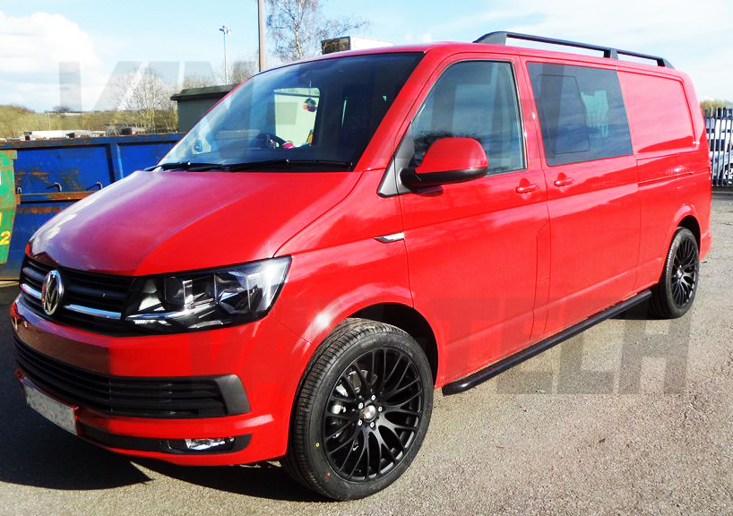 Vw Transporter T6 With Calibre Altus Alloy Wheels And