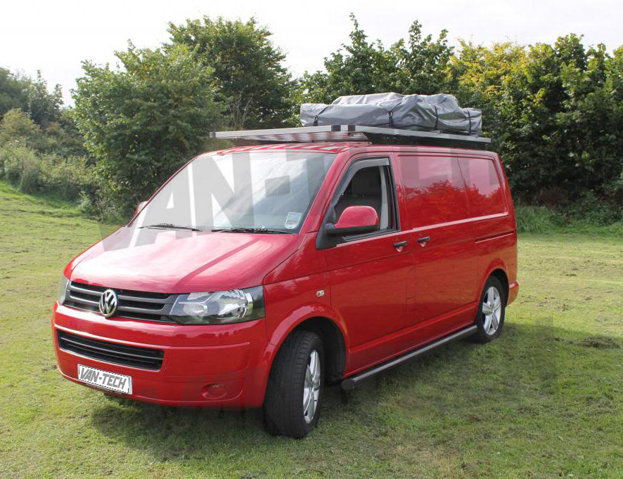 Van Roof Racks >> Vw T5 Transporter Camper Van Bus Aluminium Explorer Roof Rack