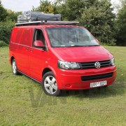 VW T5 Transporter Camper Van Bus Aluminium Explorer Safari Tent Roof Rack