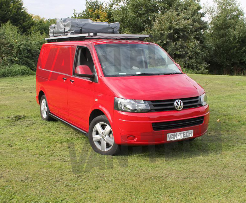 vw t5 transporter camper van bus aluminium explorer roof rack van tech. Black Bedroom Furniture Sets. Home Design Ideas
