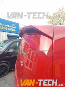 Vw T6 Van Barn Door Spoiler And Rear Black Plastic Bumper