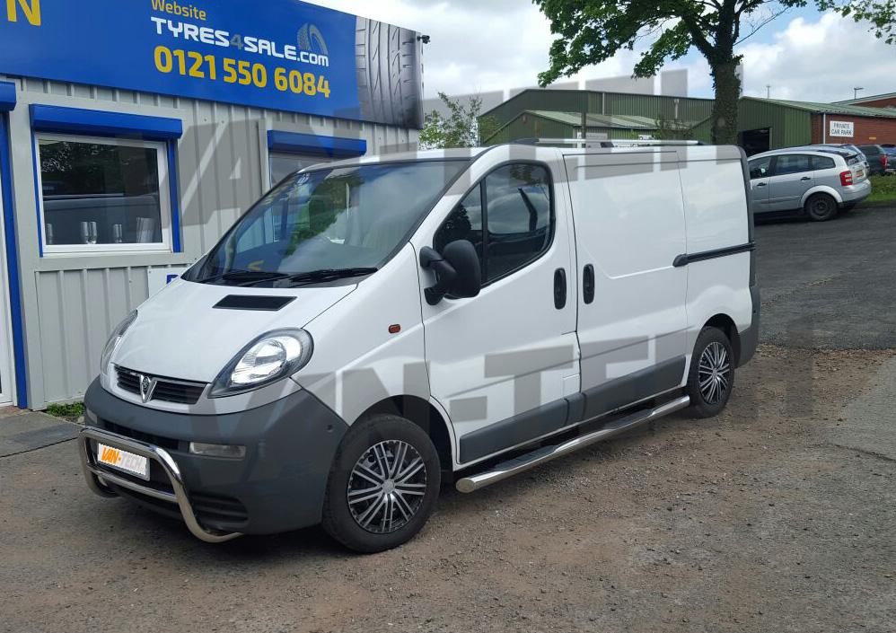 Vauxhall Vivaro Van Fitted With Van Tech Side Bars A Bar
