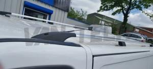 Vauxhall Vivaro Renault Trafic Nissan primastar Aluminium Roof rails