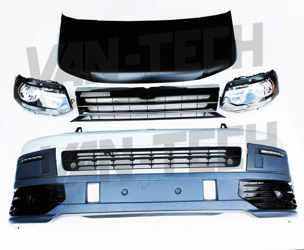 Vw Transporter T5 Front End Conversion Styling Pack 5