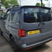 Vw Transporter T5 T6 Rear Barn Door Spoiler Primer Van Tech