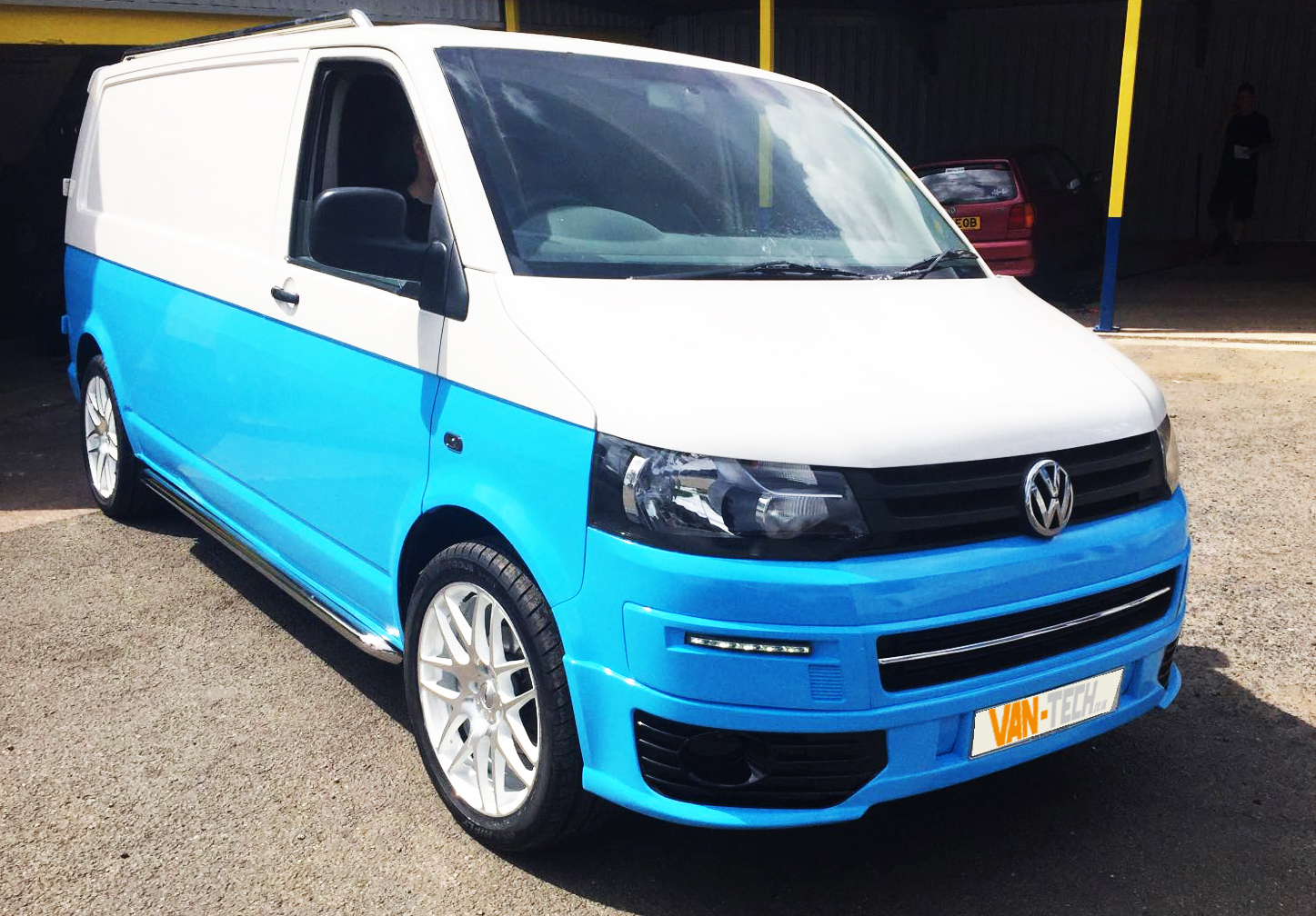 vw transporter t5 sportline full conversion styling pack van tech. Black Bedroom Furniture Sets. Home Design Ideas