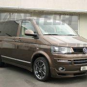 VW Transporter T5 Van front bumper spoiler / splitter