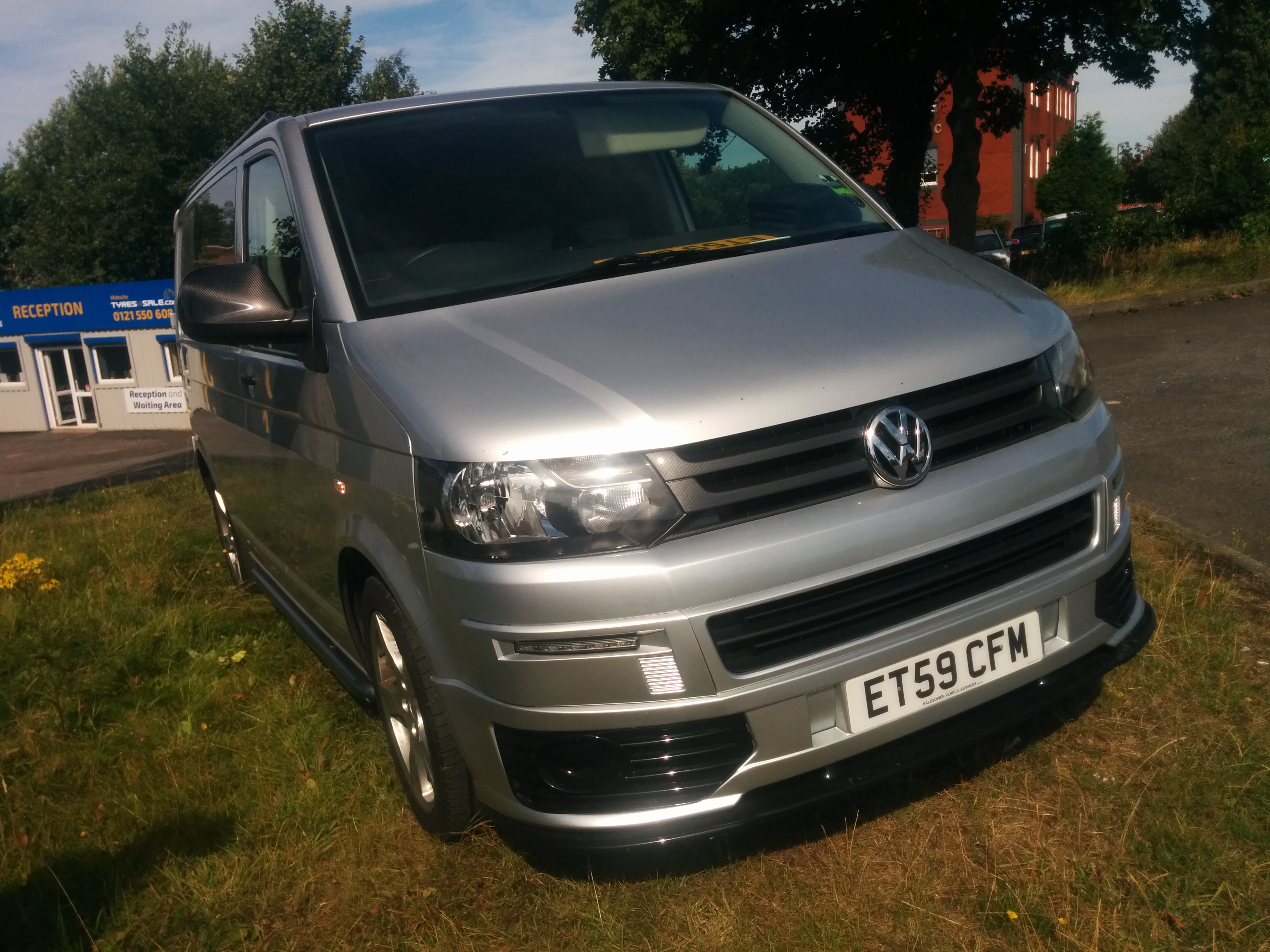For Sale Volkswagen Transporter T5 Van Silver 2010 Van Tech