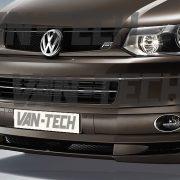 VW Transporter T5 Van Style front bumper spoiler / splitter