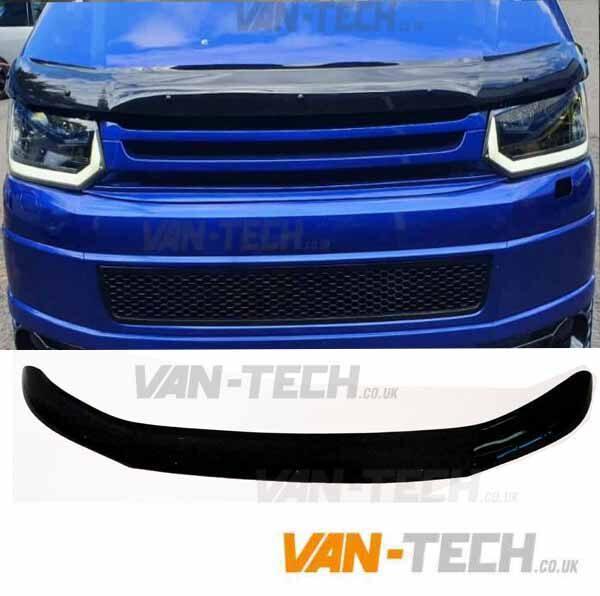 VW Transporter T5.1 Hood Deflector Protector Guard Fits 2009 - 2015