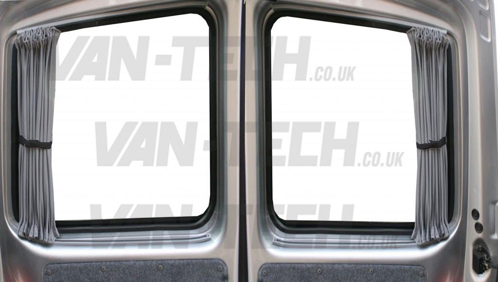 Vw T5 Van Transporter Blackout Interior Curtain Barn Door