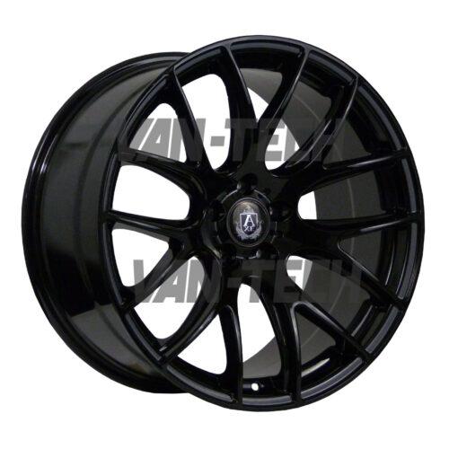 "VW T5 T5.1 T6 Axe CS - Lite Alloy Wheels 18"" Gloss Black"