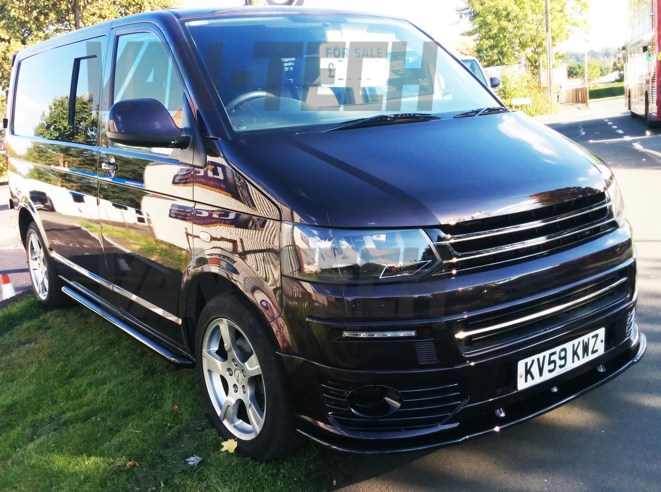 sold volkswagen transporter t5 1 barn door 2009 1 9tdi stunning blackberry swb van tech. Black Bedroom Furniture Sets. Home Design Ideas
