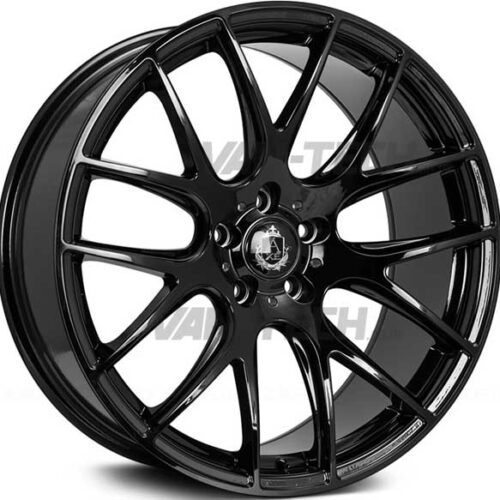 "VW T5 T5.1 T6 Axe CS - Lite Alloy Wheels 18"" Gloss Black"
