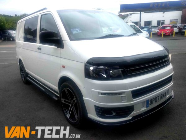 vw transporter t5 factory combi van white 2007 1 9 tdi swb van tech. Black Bedroom Furniture Sets. Home Design Ideas