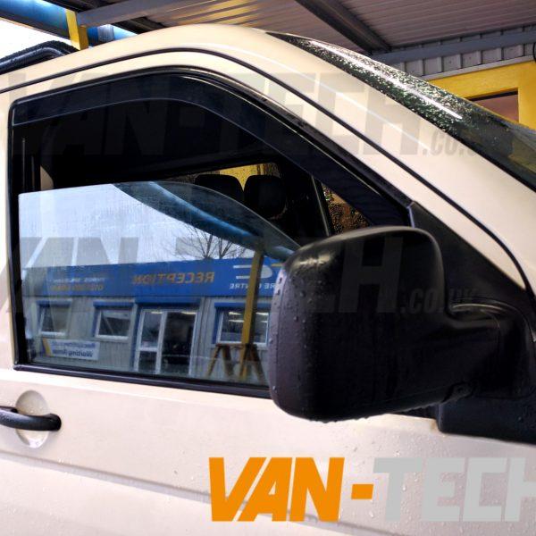 VW Transporter T5 T5.1 T6 Side Window Deflectors 3