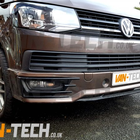 VW Transporter T6 Front Lower Sportline Bumper Spoiler (1) 7
