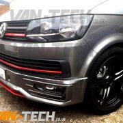 VW Transporter T6 Front Lower Sportline Bumper Spoiler (4)