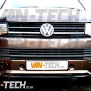 VW Transporter T6 Front Lower Sportline Bumper Spoiler (5)