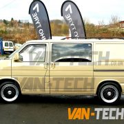 Van-Tech VW Transporter T4 with 18 inch Calibre Vintage Wheels fitted (1)