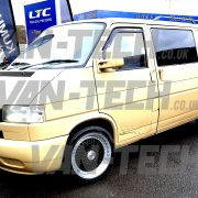 Van-Tech VW Transporter T4 with 18 inch Calibre Vintage Wheels fitted (2)